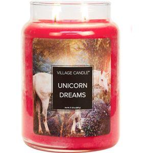 Village Candle Large Jar - Fantasy: Unicorn Dreams