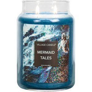 Village Candle Large Jar - Fantasy: Mermaid Tales
