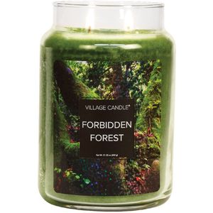 Village Candle Large Jar - Fantasy: Forbidden Forest