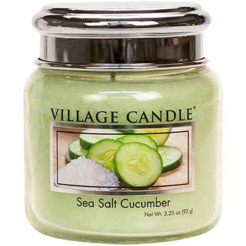 Village Candle Petite Jar 3.75oz - Sea Salt Cucumber