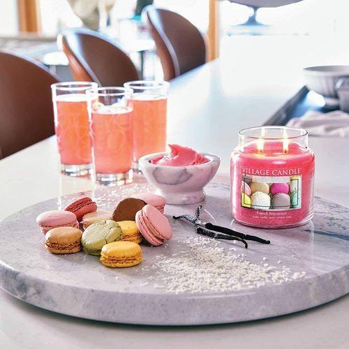 Village Candle Petite Jar 3.75oz - French Macaroon