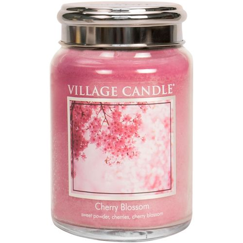 Village Candle Large Jar 26oz - Cherry Blossom