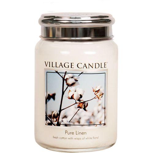 Village Candle Large Jar 26oz - Pure Linen