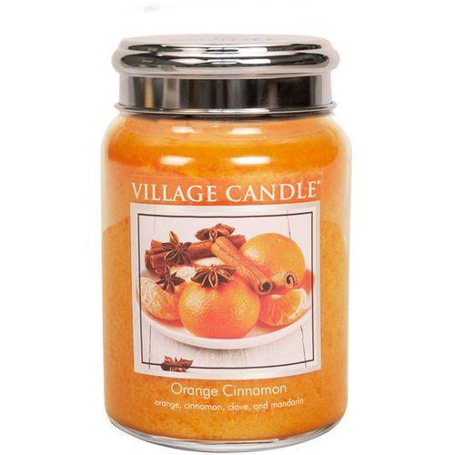 Village Candle Large Jar 26oz - Orange Cinnamon