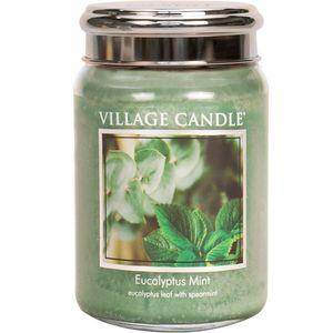 Village Candle Large Jar 26oz - Eucalyptus Mint