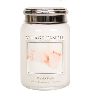 Village Candle Powder fresh 26oz Large Jar