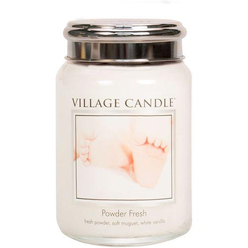 Village Candle Large Jar 26oz - Powder Fresh