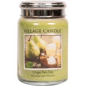 Village Candle Ginger Pear Fizz 26oz Large Jar