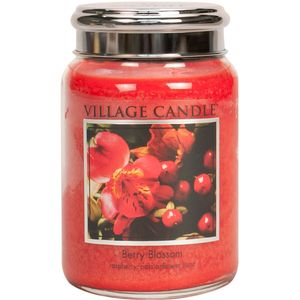 Village Candle Berry Blossom 26oz Large Jar
