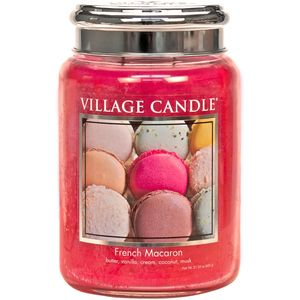 Village Candle French Macaroon 26oz Large Jar
