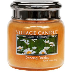 Village Candle Dancing Daisies 3.75oz Petite Jar