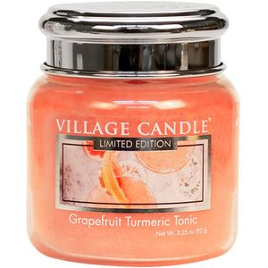Village Candle Petite Jar 3.75oz - Grapefruit Turmeric