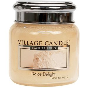 Village Candle Petite Jar 3.75oz - Dolce Delight