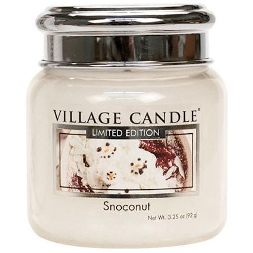 Village Candle Petite Jar 3.75oz - Snoconut
