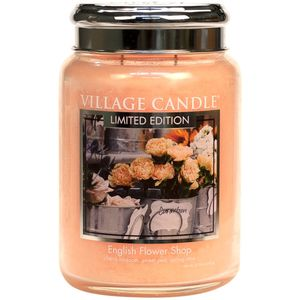 Village Candle English Flower Shop 26oz Large Jar