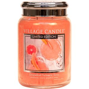 Village Candle Grapefruit Turmeric Tonic Large Jar