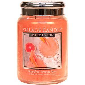 Village Candle Large Jar 26oz - Grapefruit Turmeric