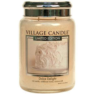 Village Candle Dolce Delight 26oz Large Jar