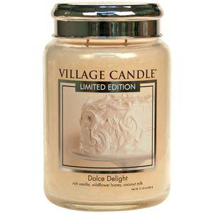 Village Candle Large Jar 26oz - Dolce Delight