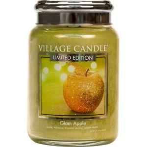 Village Candle Large Jar 26oz - Glam Apple