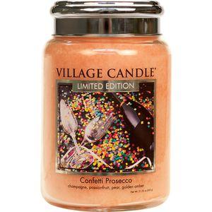 Village Candle Large Jar 26oz - Confetti Prosecco