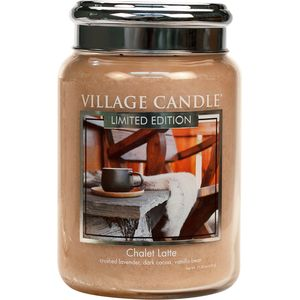 Village Candle Large Jar 26oz - Chalet Latte