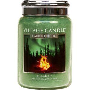 Village Candle Large Jar 26oz - Fireside Fir