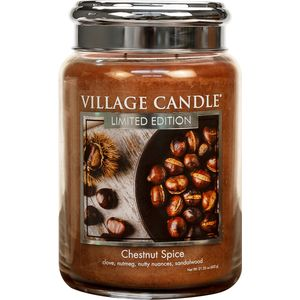 Village Candle Large Jar 26oz - Chestnut Spice
