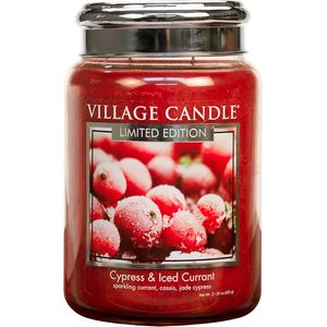 Village Candle Large Jar 26oz - Cypress & Iced Currant