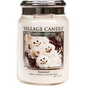 Village Candle Large Jar 26oz - Snoconut