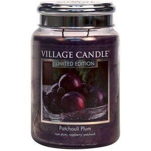 Village Candle Large Jar 26oz - Patchouli Plum