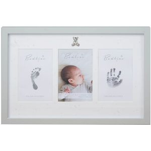 Juliana Bambino Baby Hand & Foot Print Collage Photo Frame with Ink Pad