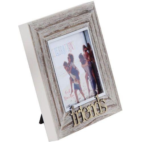 "Celebrations Sentiment Photo Frame 4"" x 4"" - Friends"