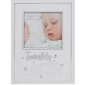 Celebrations Twinkle Twinkle Baby Photo Frame 4x4""