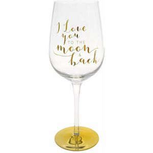 You Are An Angel Wine Glass - I Love You