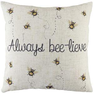 Evans Lichfield Bee-Lieve Cushion (43cm)