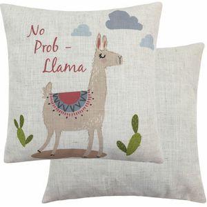 Evans Lichfield Fantasy Collection Cushion Cover: No Prob-Llama