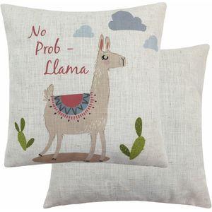Fantasy No Prob Llama Cushion (43cm)