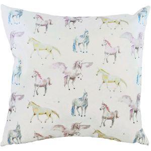 Evans Lichfield Fantasy Cushion: Unicorn 43cm