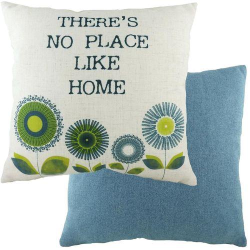 Evans Lichfield Retro Collection Cushion: Home Denim 43cm x 43cm
