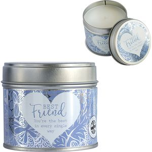 Said with Sentiment Candle in Tin - Best Friend