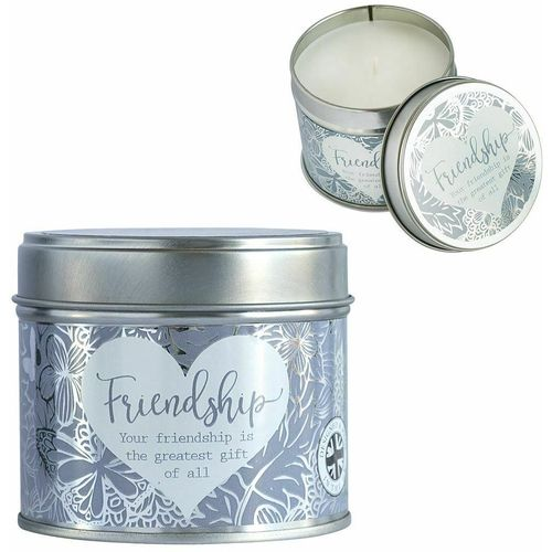 Said with Sentiment Candle in Tin - Friendship