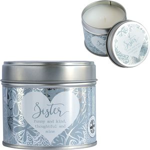 Said with Sentiment Candle in Tin - Sister