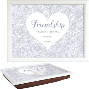 Said with Sentiment Lap Tray - Friendship