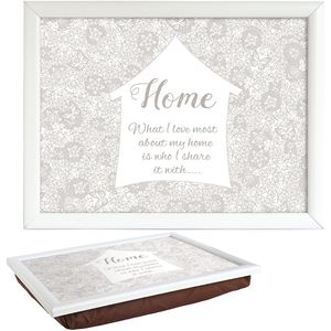 Said with Sentiment Lap Tray - Home