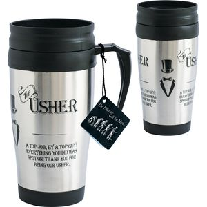 Ultimate Man Gift Travel Mug - The Usher