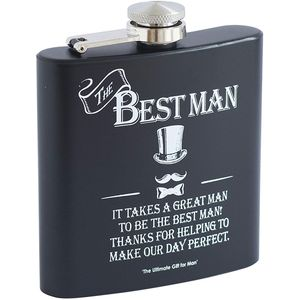 Hip Flask - Best Man