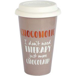Ceramic Travel Mug - Chocoholic
