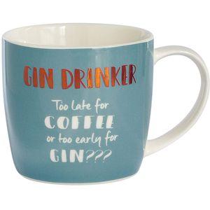 Mug In Hat Box - Gin Drinker