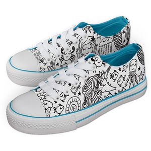 Jex Shoes - Under The Sea Pattern - UK 4
